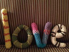 Mooie letters leuk als decoratie !