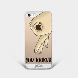 You Looked (Man) Phone Case