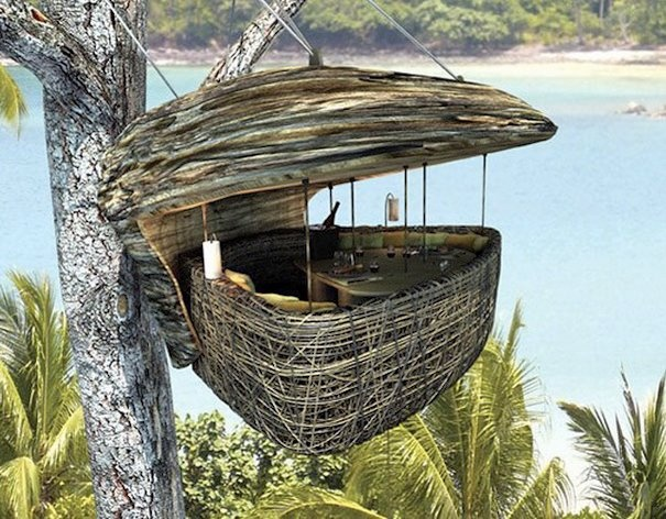restaurant in a wooden shell the dining pod soneva kiri koh kood thailand find this pin and more on worlds most expensive - Most Expensive Tree House In The World
