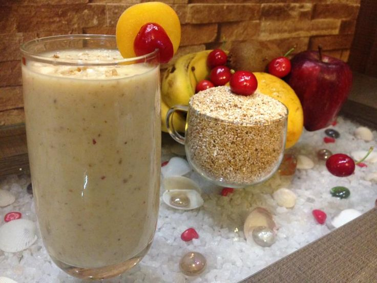 Healthy Way To Start Your Day - Daliya Smoothie