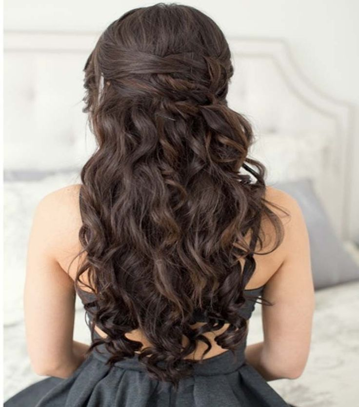 Long Curly Weave Hairstyles. Beauty is at every age, and we can embrace God's gifts. A wife's long hair is just naturally beautiful, a glory to her and a joy to her partner/husband. Quit trying the artificial route and trust in how you were made.