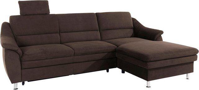 Sit More Ecksofa Mit Federkern Wahlweise Mit Bettfunktion Online Kaufen Sofa Ecksofa