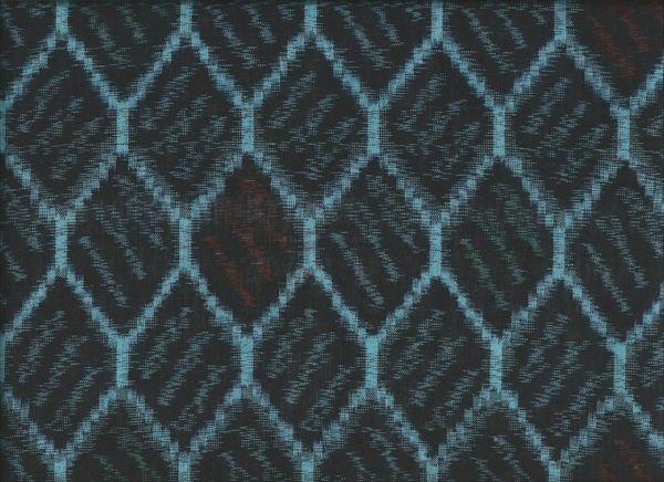"""Yukata """"Ikat Wire Weave"""" http://www.kesarankimonofabric.com/"""