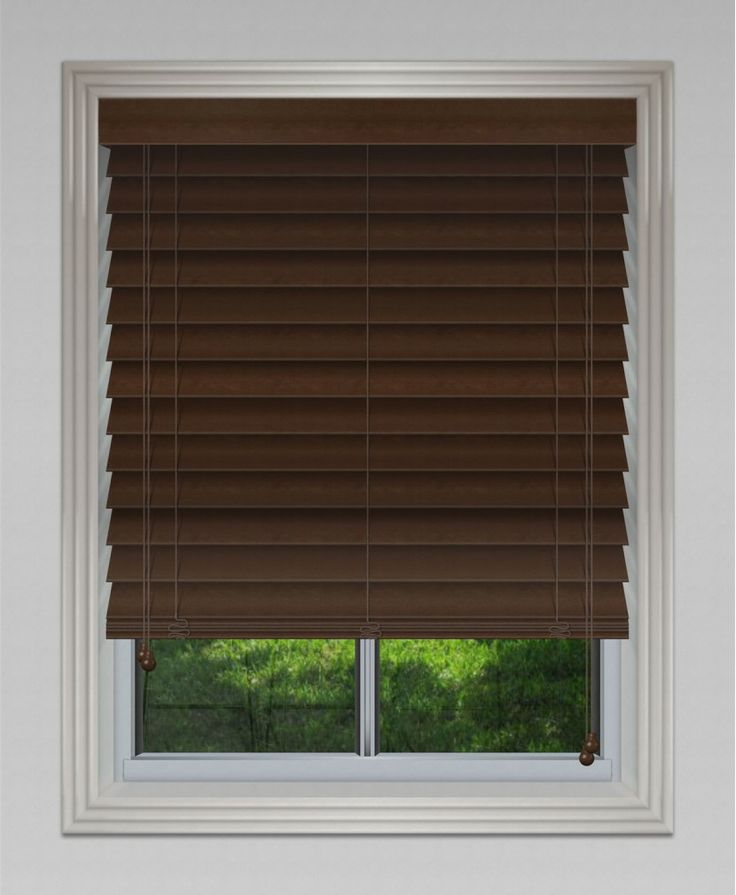 45mm Privacy Cedar Venetian - Dark #blinds #venetian