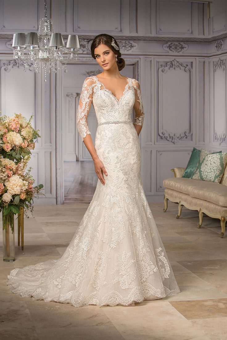 Wedding gown by Jasmine Couture