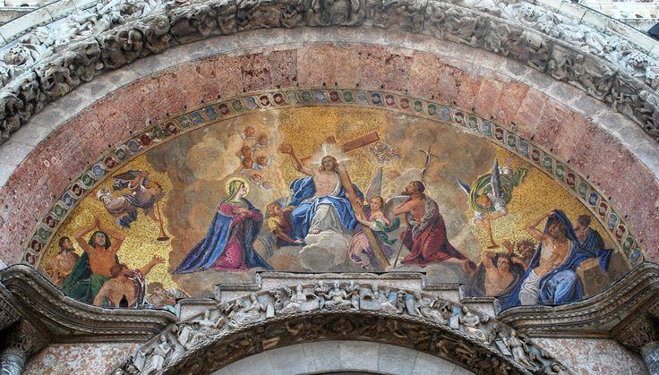 Triumph of Christ - Triumph of Christ at St. Mark's Basilica - Venezia, Veneto, Italy.