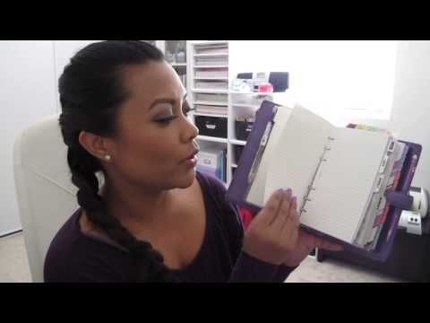 ▶ Organizing my life with a Filofax Organiser/ Planner - YouTube.  Not a Franklin Covey, but some awesome ideas.  She has LOTS of awesome videos and a blog!