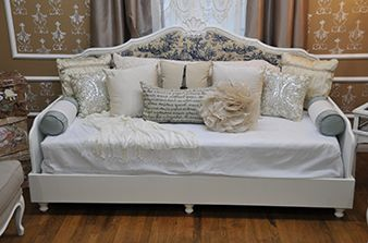 Easily repurpose a headboard into a decorative sofa bed with the help from Home Made Simple's TV experts.