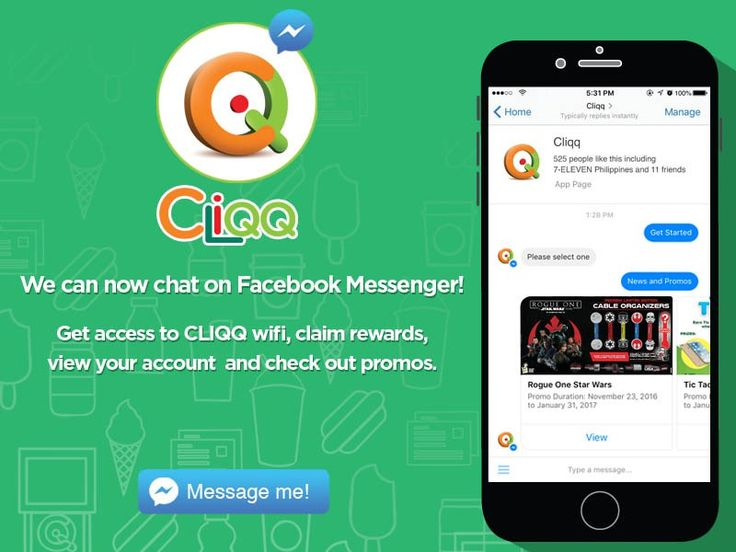 CLiQQ and 7-Eleven Rewards are Now on Facebook Messenger