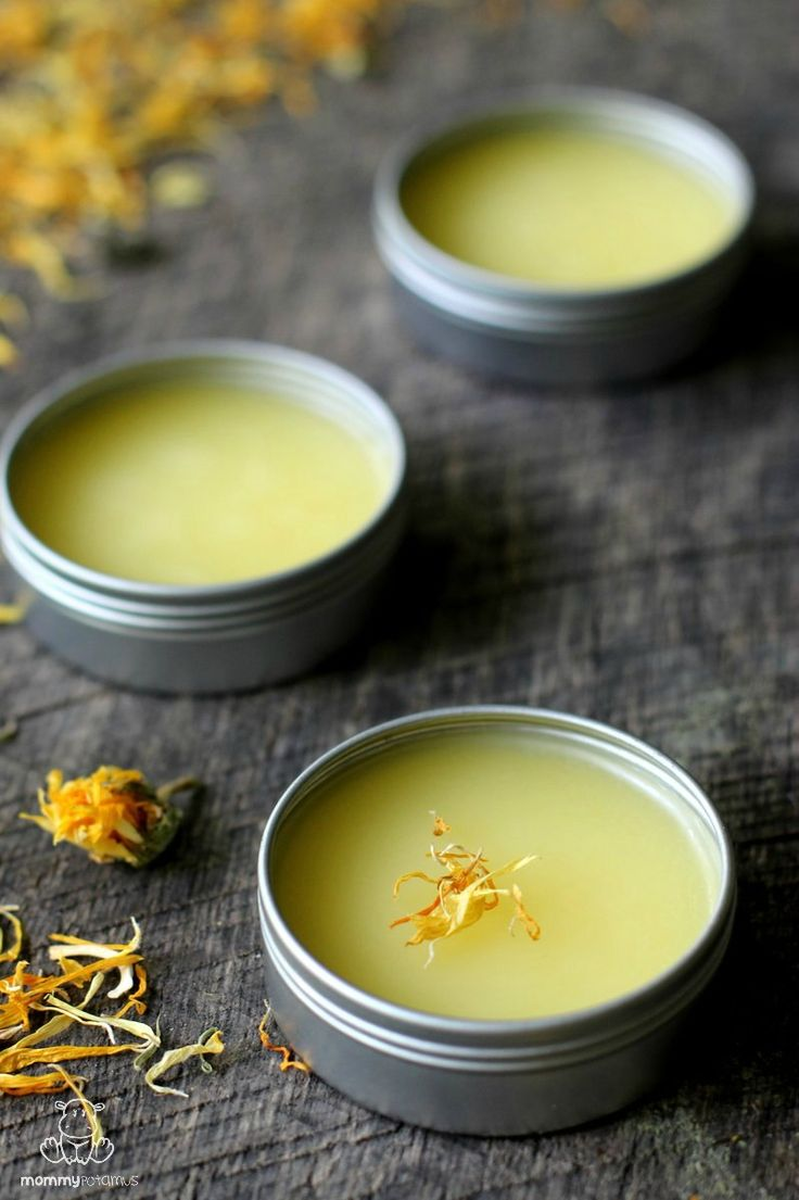 This calendula salve is rich in compounds that nourish, hydrate, and support skin healing. I use it as a face moisturizer, chapped-lip balm, baby bottom balm, owie salve, burn salve and bug bite balm.