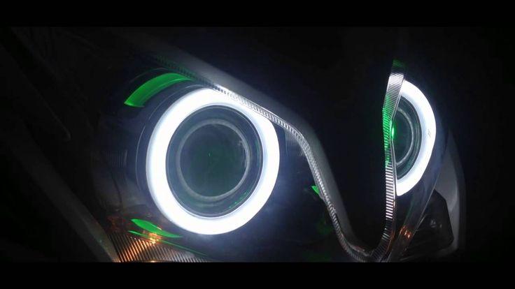 Honda Vario 125 Clarity LED HID Projectors with Turning Lights - http://aeshidindonesia.co.id
