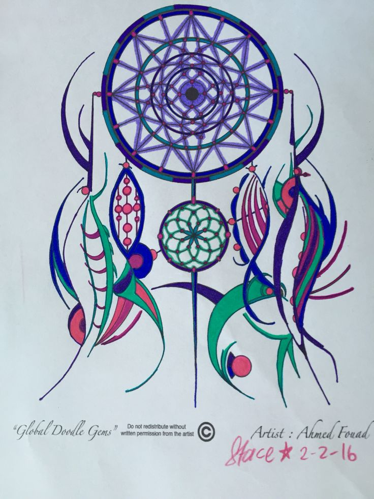 I have had the absolute joy of colouring 3 of Ahmed Fouad's amazing artworks from his Celestial Art Adult Colouring Book. The dreamcatcher was a a freebie he shared, then 1 I coloured for his…
