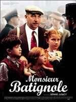 Affiche du film Monsieur Batignole