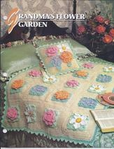 RARE~Grandma's Flower Garden Afghan Crochet Pattern~Annie's Quilt & Afghan Club - Afghan Patterns: Flowers Gardens, Grandma Flowers, Crochet Afghans, Afghans Patterns,  Comforter, Crochet Quilt, Flower Gardens, Afghans Club, Crochet Patterns