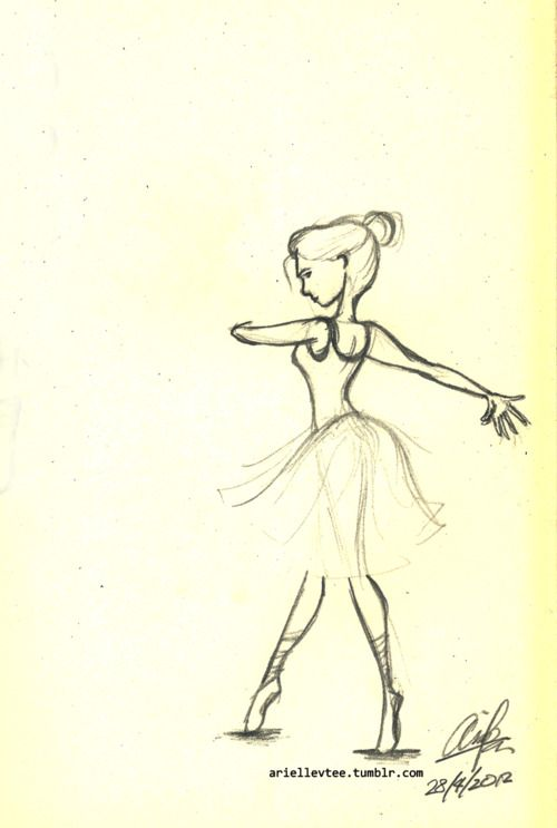ballet drawing | Tumblr