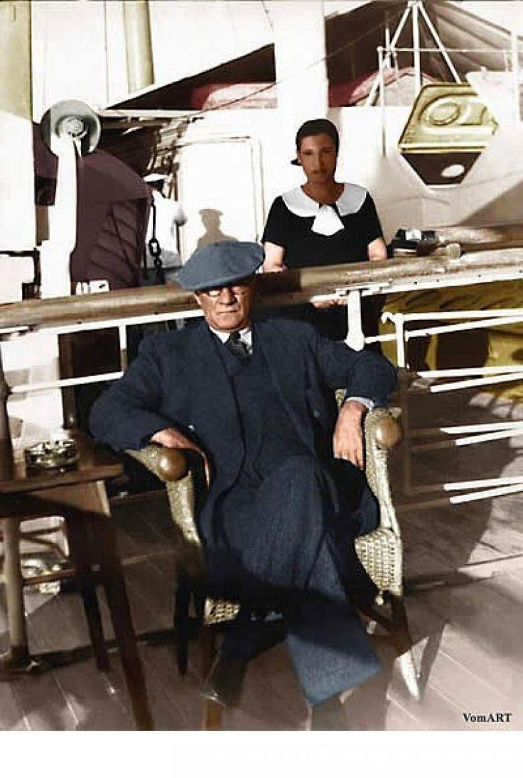 Atatürk'ün Dünyanın En Karizmatik Lideri Olduğunu Kanıtlayan 11 Fotoğraf-rono8u375g