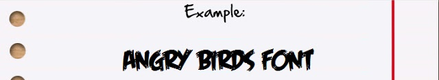 Angry Birds FONT