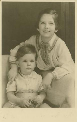 Prinzessin Luisa und Kronprinz Simeon von Bulgarien