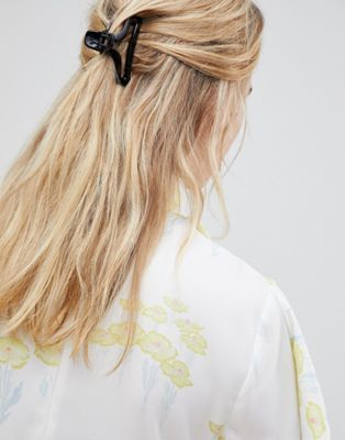 Asos Design Open Sides Claw Clip Accessories Pinterest Hair