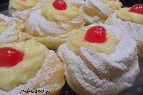 Zeppole di San Giuseppe à la crème - Moderne a 50 ans