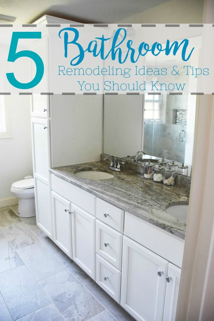 5 Bathroom Remodeling Ideas And Tips You Should Know Bathrooms
