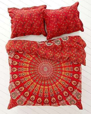 Bedspreads – Queen Mandala Beach Throw Blanket Bedcover Pillow – a unique product by IndianCraftPalace on DaWanda