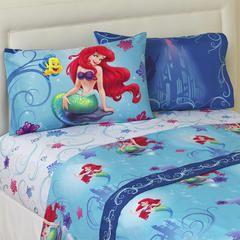 The Little Mermaid 4-Piece Bedsheet Set - Ariel - Kmart