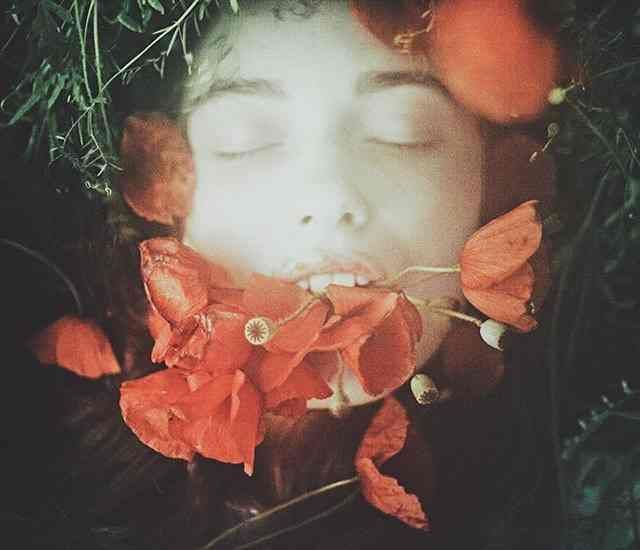 Laura Makabresku Is a visual artist and photographer. Her photographs are overflown with mystic symbols and the atmosphere of fairy tales.