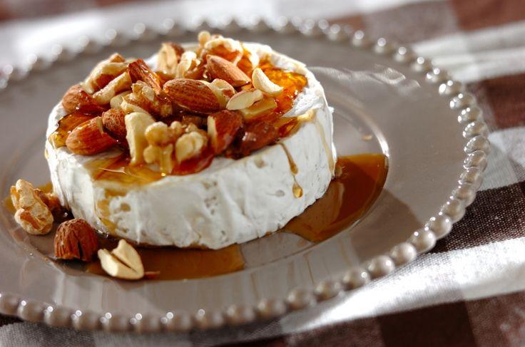 シンプルでおしゃれなオードブルです。カマンベールのメープルナッツがけ/崎野 晴子のレシピ。[洋食/前菜]2016.08.24公開のレシピです。