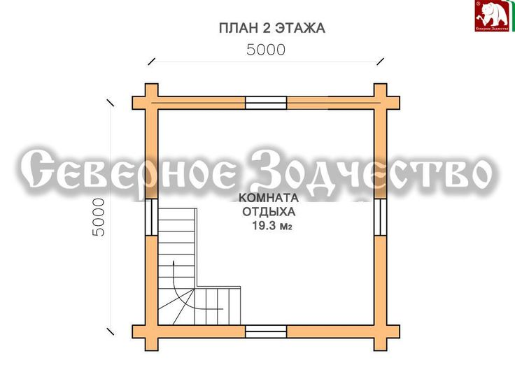 ПРОЕКТ 3-270 - План 2 этажа