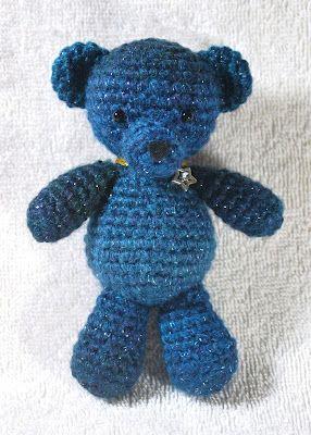 Easy crochet Bear. I made one! :D