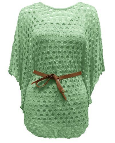 CEXI COUTURE LADIES BELTED KNITTED CROCHET BATWING TOP MINT ONE SIZE Cexi Couture, http://www.amazon.co.uk/dp/B00B9H3PYG/ref=cm_sw_r_pi_dp_bg5bsb1QQSAQ8