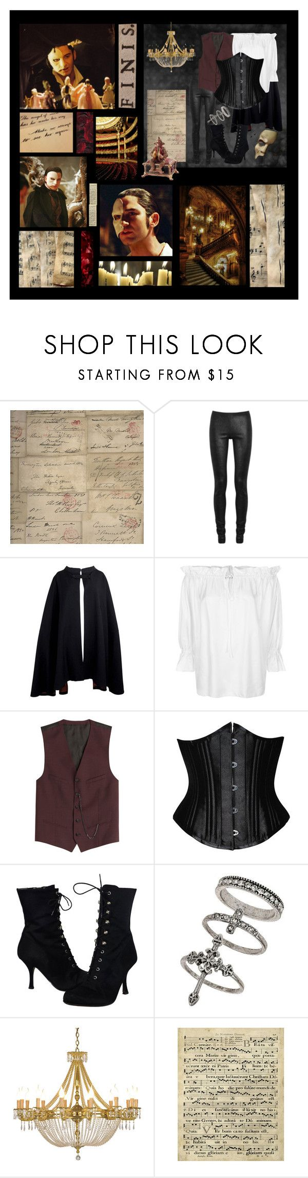 """Me in Phantom of the Opera (RTD)"" by xxstar-childxx ❤ liked on Polyvore featuring Andrew Martin, Rick Owens, Pierre Cardin, Temperley London, The Kooples, Donald J Pliner, Miss Selfridge and Art Classics"