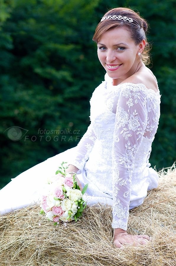 krásná nevěsta i letuška :-)