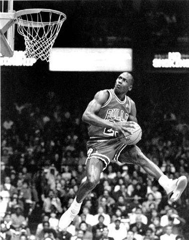 basketball, classic, dunk, jordan, michael jordan, nba - inspiring picture on Favim.com