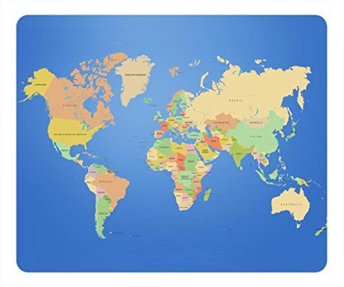 30 best mousepads images on pinterest amazon fashion design and zenzzle fashion designed rectangle mouse pad world map digital art zenzzle http gumiabroncs Image collections