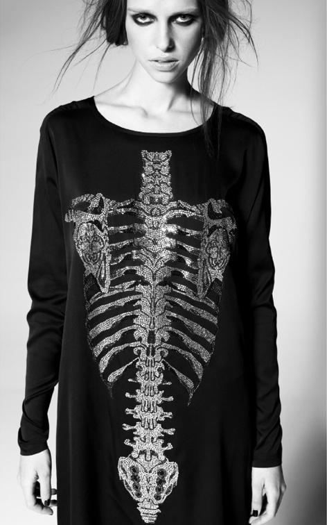 Thomas Wylde skeleton dress