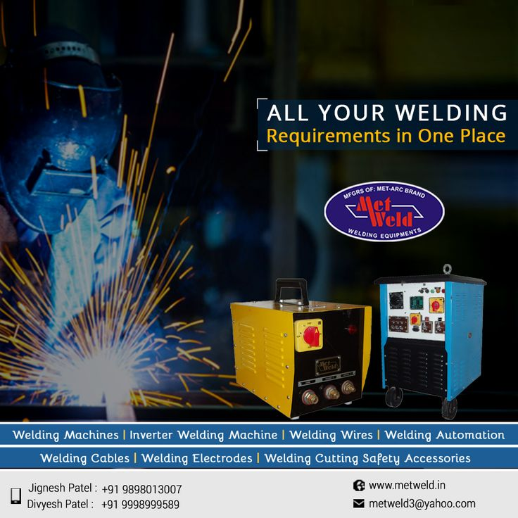 type of welding machine