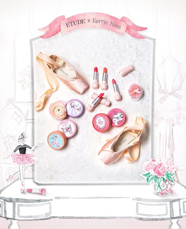 Etude House Dreaming Swan Launches for Spring 2015