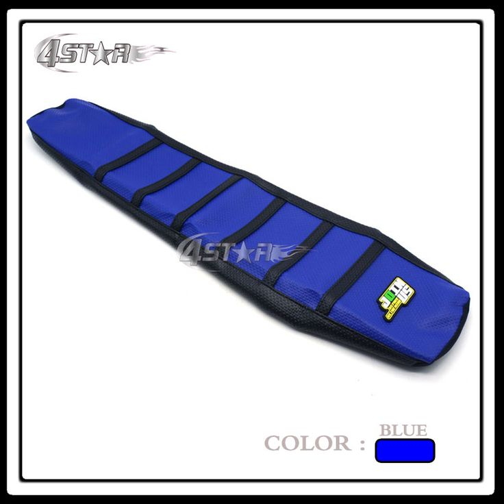 Free Shipping Soft-Grip Blue Seat Gripper Cover Fit WRF WR250F WR450F Dirt Bike Motocross Enduro Supermoto Motorcycle