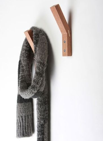 Need something like these for coats and minimal wall space...