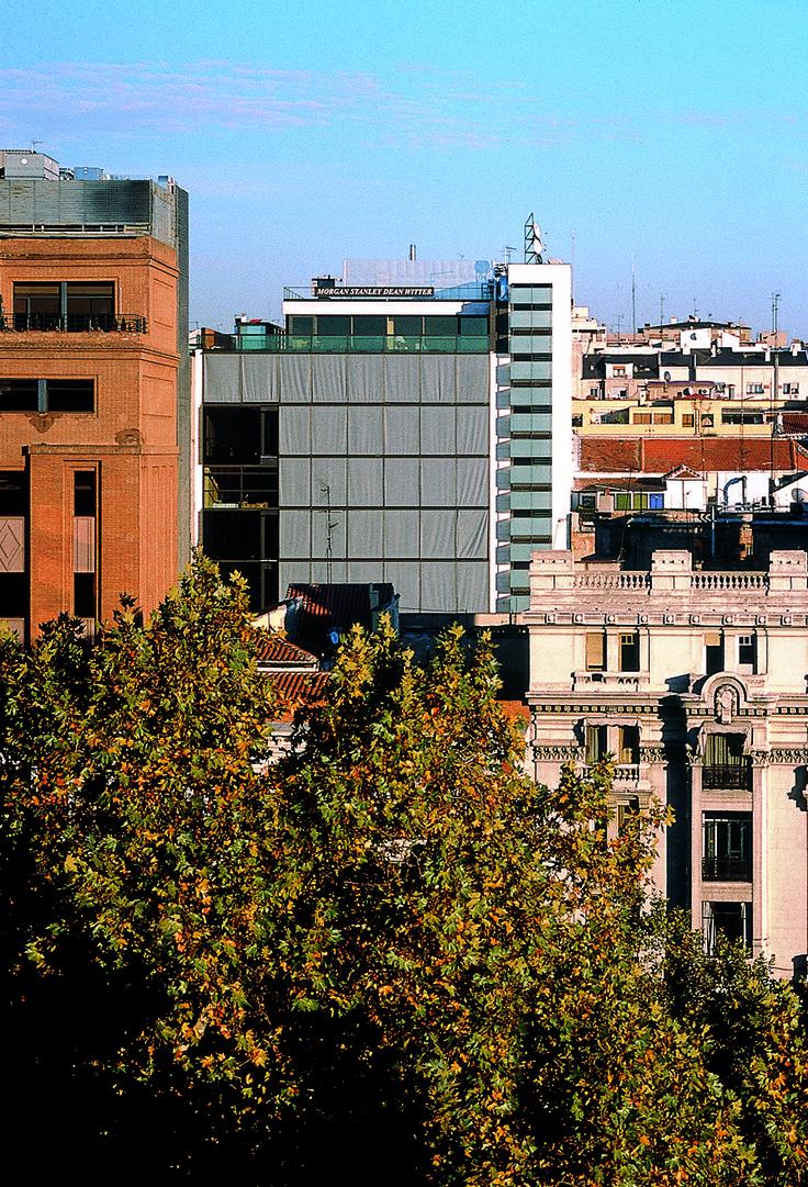 Sede morgan stanley madrid 2000 allende arquitectos 1 premio xv edici n premios de urbanismo - Arquitectos interioristas madrid ...