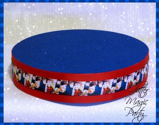 One Direction Stand - One Direction Birthday Party - Lollipops or Cakepops Stand - One Direction Party Decoration - One Direction Theme
