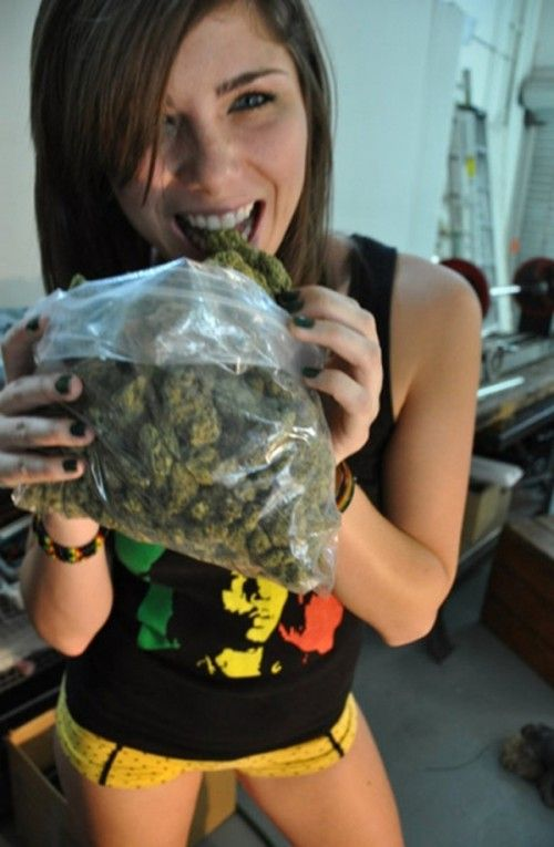 Perks of dating a stoner chick