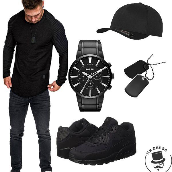 Jeans Pullover amaci Black Is dog BackReslad amp;sons Tag n8k0OwPX