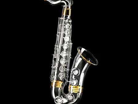 Most Expensive Saxophone  Price: $62,632  Luxury details: embellished with 10 two-carat diamonds and 2.82 ounces of gold plating.  Why you don't need it: can you play  a saxophone anyway?