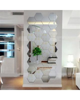 Honeycomb/hexagon Mirror