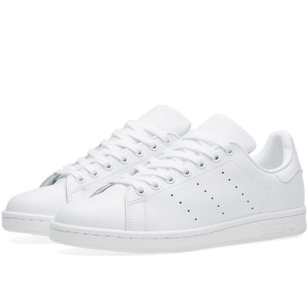 Adidas Stan Smith ($97) ❤ liked on Polyvore featuring men's fashion, men's shoes, men's sneakers, shoes, g star mens shoes, mens tennis shoes, mens white shoes, adidas mens shoes and adidas mens sneakers