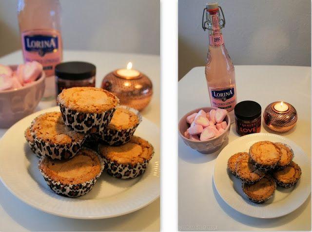 Makron muffins (Med tvebakker)