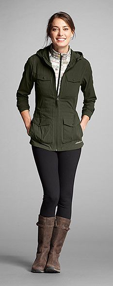 Perfect for traveling in the fall or winter, the Atlas II Jacket
